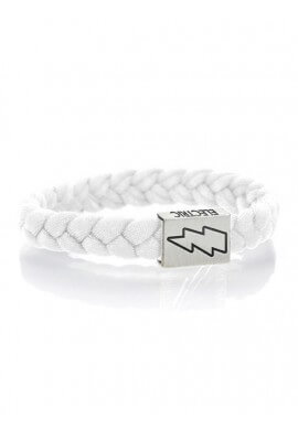 Electric White Bracelet