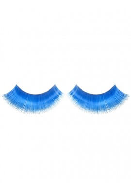 Turquoise Eyelashes