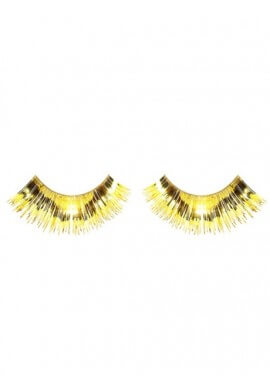Metallic Gold Eyelashes