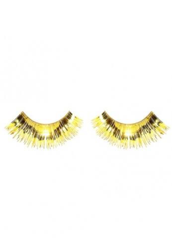 Metallic Gold Eyelashes