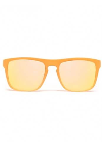 Flat Orange Bridge Mirror Diffraction Glasses