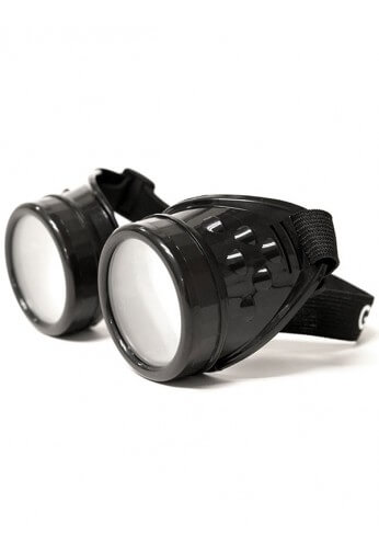 Black Diffraction Goggles