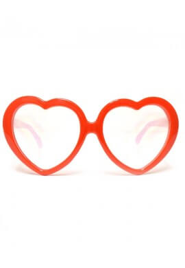 Heart Diffraction Glasses