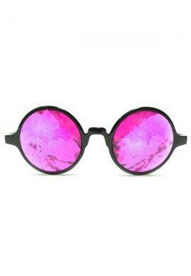 Magenta Kaleidoscope Glasses