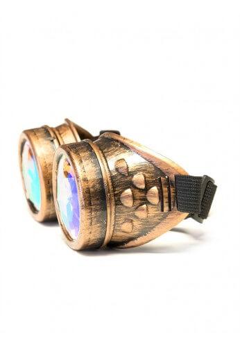 Copper Kaleidoscope Goggles