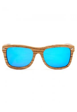 Polarized Zebra Wood Glasses