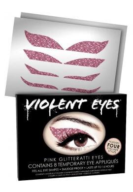 Pink Glitteratti Eyes