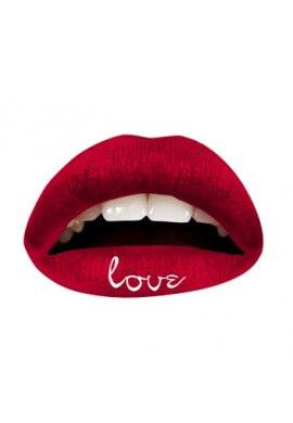 Red Love Lip Applique