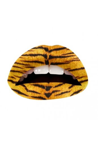 Tiger Lip Applique