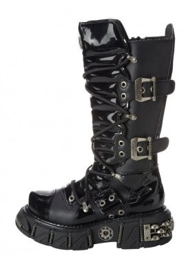 DMA Gothic Buckle Boots