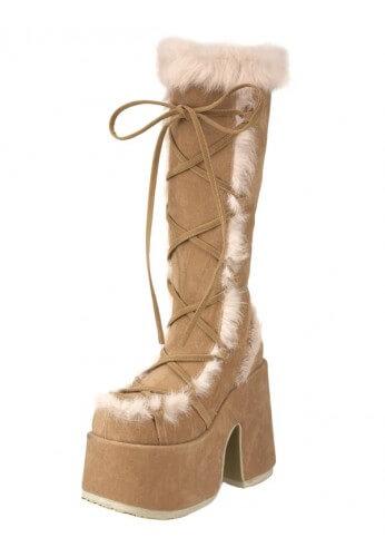 Tan Camel 311 GoGo Boots