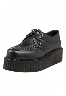 Black 402 Platform Creepers