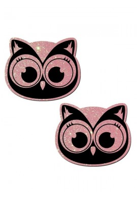 Pink Glitter Owl Pastease