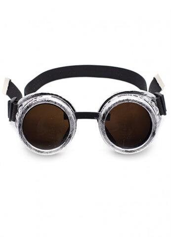 Antique Silver Goggles