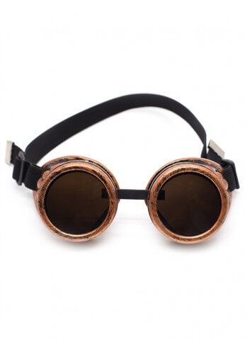 Brushed Copper Goggles
