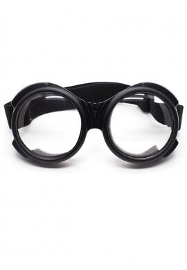 Bugeye Cyber Goggles with Clear Lenses