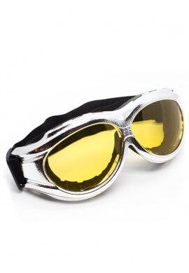 Chrome Padded Goggles
