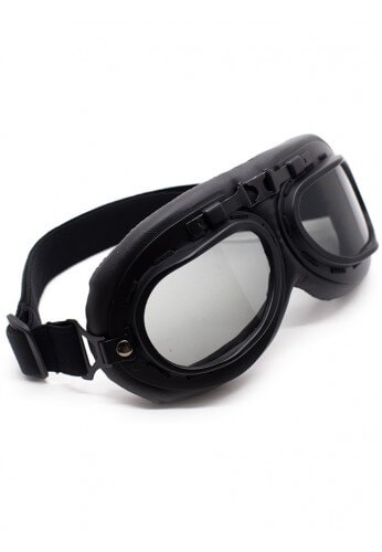 Smokey Black Goggles