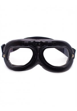 Black Padded Goggles