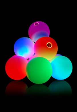 Rechargeable 70mm LED Glow Juggling Ball