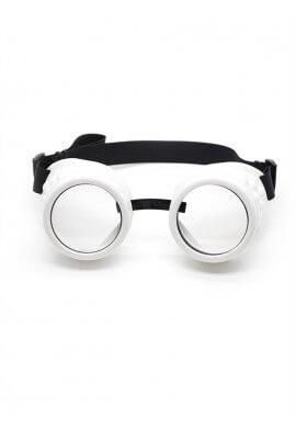 White Cyber Goggles
