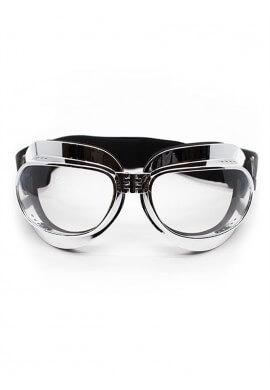 Foldable Chrome Goggles