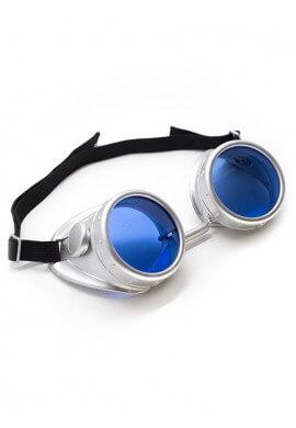 Plastic Silver Goggles