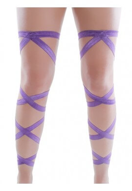Purple Leg Wraps