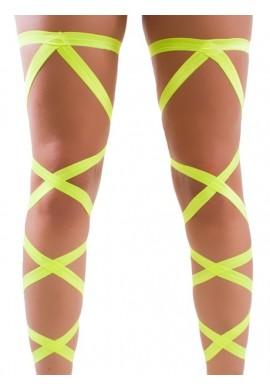 UV Yellow Leg Wraps