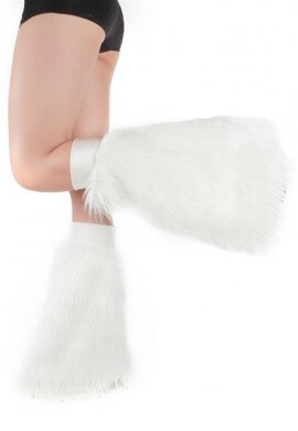 White Sparkle Fluffies