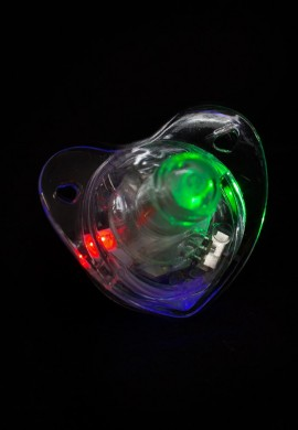 Flashing LED Pacifier Ring