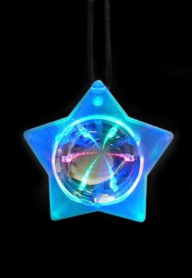 Space Star Infinity Tunnel Necklace