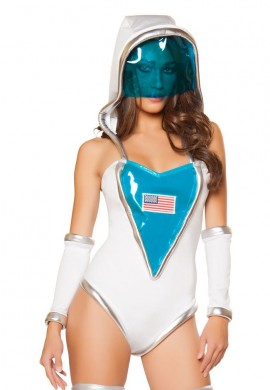 Space Commander Costume Romper