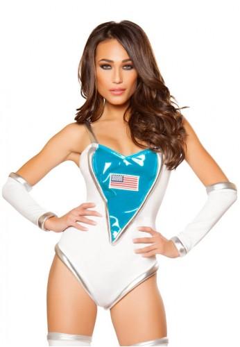 Space Commander Costume Romper