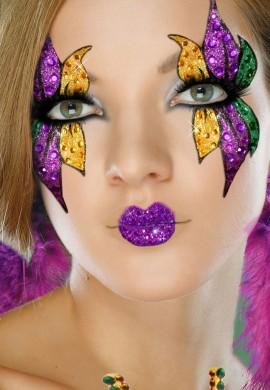 Mardi Gras Face Kit