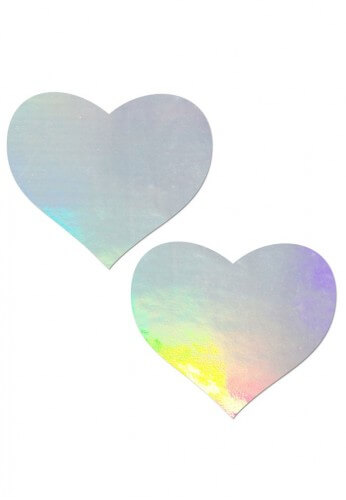 Holographic Heart Pasties