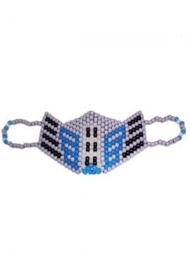 Optimus Prime Glowing Kandi Mask