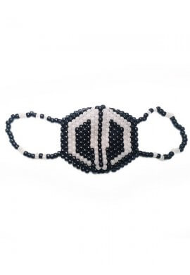 Glow In The Dark Destroid Kandi Mask