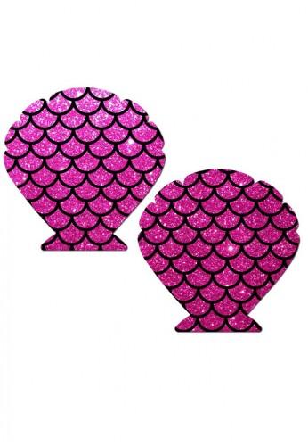 Pink Mermaid Heart Pasties