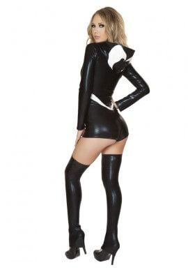 Black Spider Romper Costume