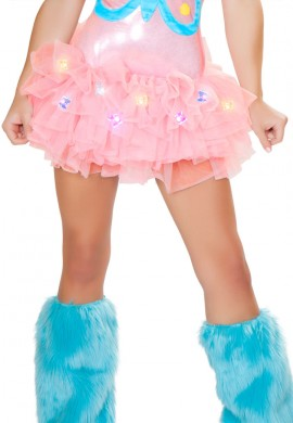 Pink Butterfly Light Up TuTu