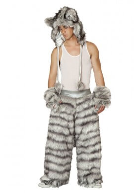 Furry Wolf Pants