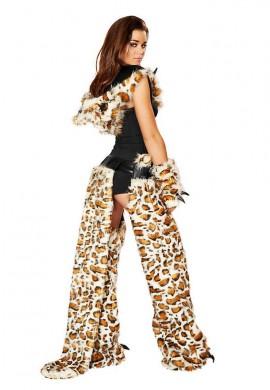 Leopard Chaps Outfit