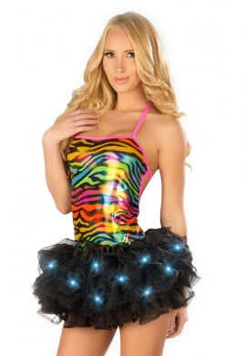 Black Light Up TuTu