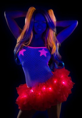 Red Light Up TuTu