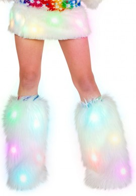 Light Up Superfluff Legwarmers