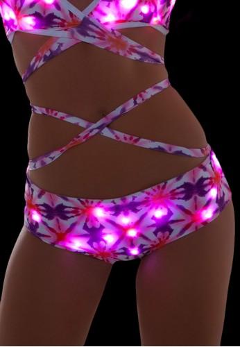 Kaleidoscope Light Up Shorts