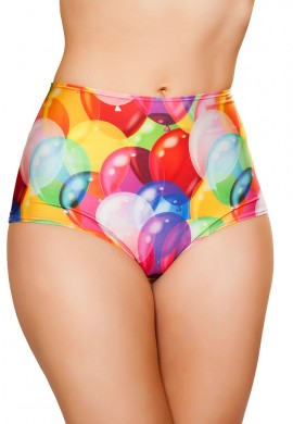 Balloons High Waist Shorts