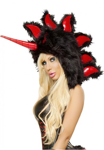 Black Magic Unicorn Hood