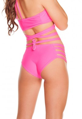 Pink Strappy Bottoms
